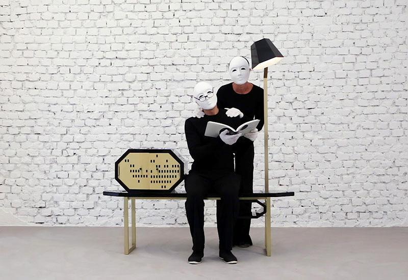 Video promozionale galleria design Milano