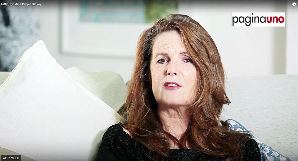 Video intervista scrittrice Milano