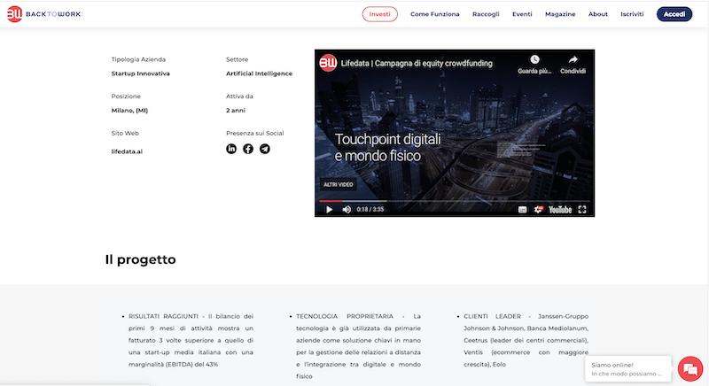 videomaker crowdfunding milano