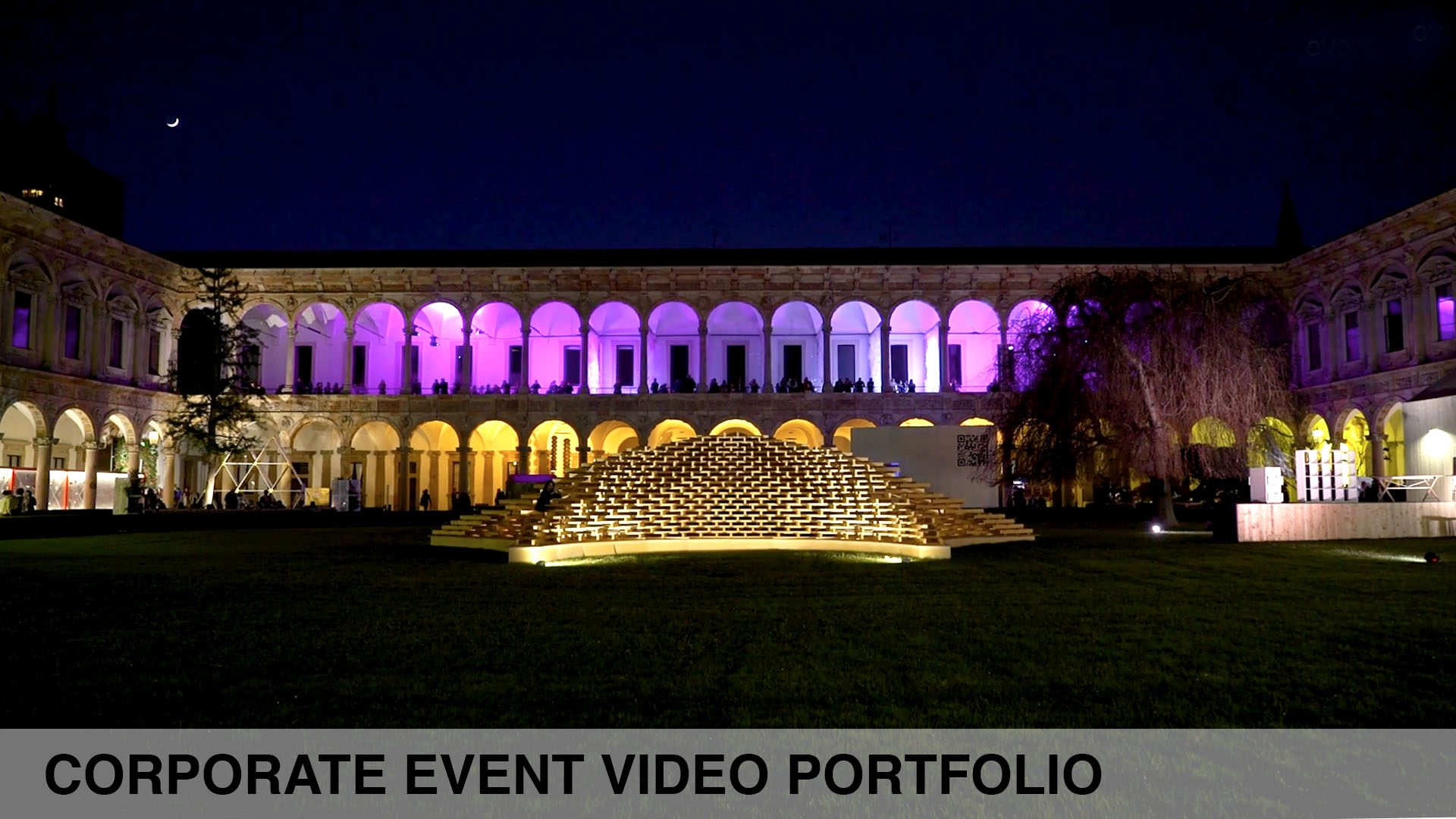corporate event video production italy